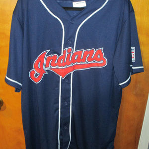 Cleveland Indians Jim Thome HOF PROMO Jersey XL